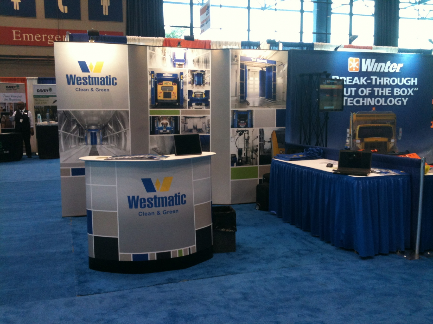 Westmatic Trade Show Booth